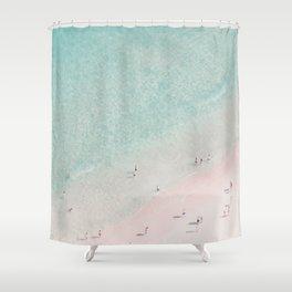 beach - summer of love III Shower Curtain
