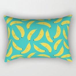 Happy Bananas Rectangular Pillow