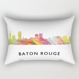 Baton Rouge Louisiana Skyline Rectangular Pillow