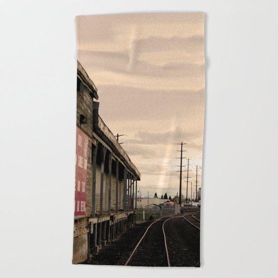 Industrial Redmond Beach Towel