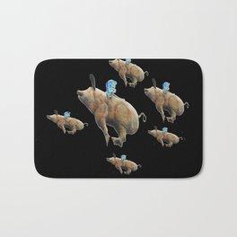 When Pigs Fly Bath Mat