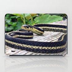 Garter Snake, High Park Gardens iPad Case