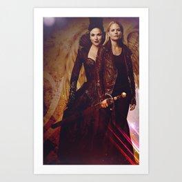 SwanQueen Angel Art Print