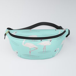 Flamingos in Water Fanny Pack