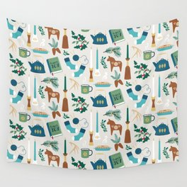 A Very Hygge Holiday Wall Tapestry