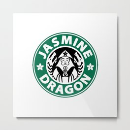 The Jasmine Dragon Metal Print