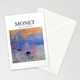 Monet - Impression, Soleil Levant Stationery Cards