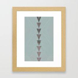 dusty arrows cool Framed Art Print