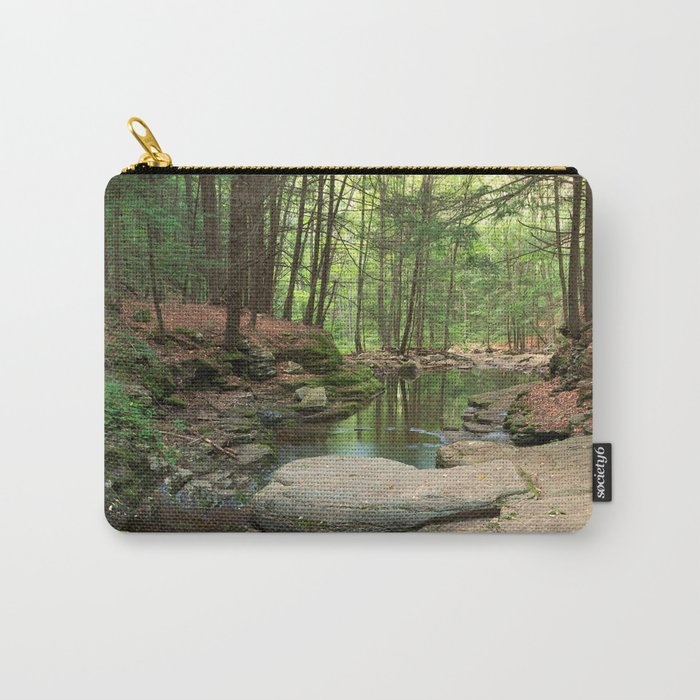 Worlds End Forest Stream Carry-All Pouch