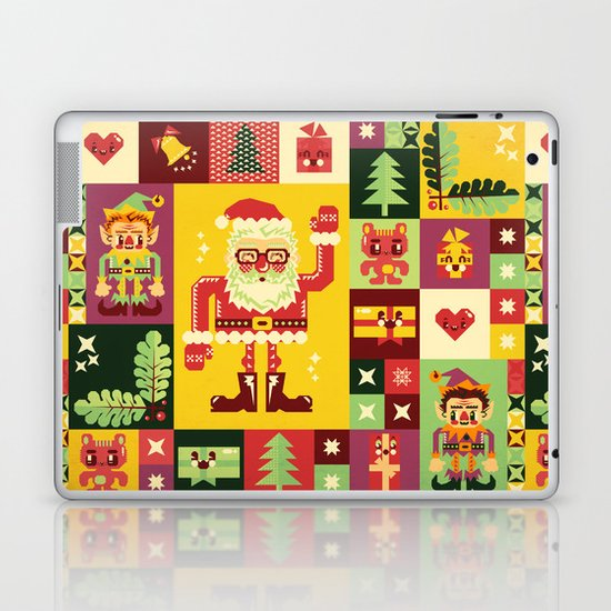 Christmas Geometric Pattern No. 1 Laptop & iPad Skin