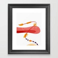 A beginning | Happy Modern Art Framed Art Print