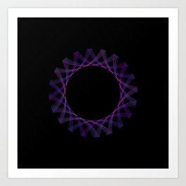 Spirograph 3 Art Print