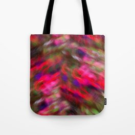 Dancers On A Windy Day Tote Bag