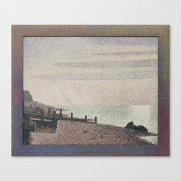 Evening, Honfleur Canvas Print