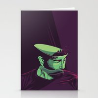 movie poster Stationery Cards featuring Enemy - Alternative movie poster by FourteenLab