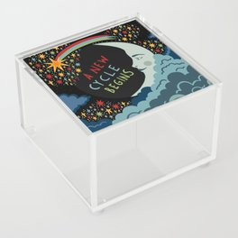 A new cycle begins Acrylic Box