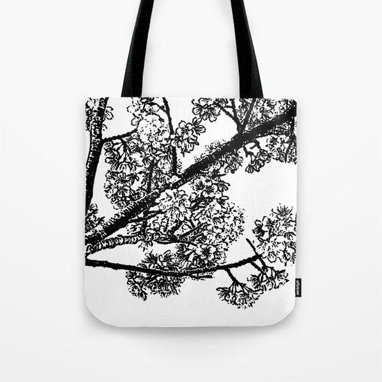 Cherry Blossom #6 Tote Bag