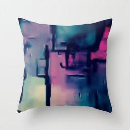 DANA IN THE SKYPE Throw Pillow