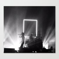 1975 Canvas Prints featuring The 1975  by jfiergj0enf