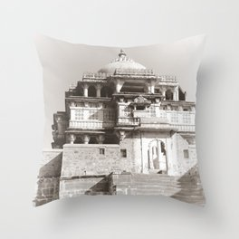 Exotic Dreams India Throw Pillow
