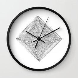 DMT OCTAHEDRON Wall Clock
