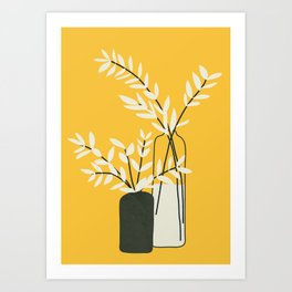 Abstract Vases Art Print