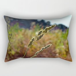 In The Breeze Rectangular Pillow
