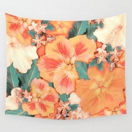 Aloha Orange Sherbet Wall Tapestry