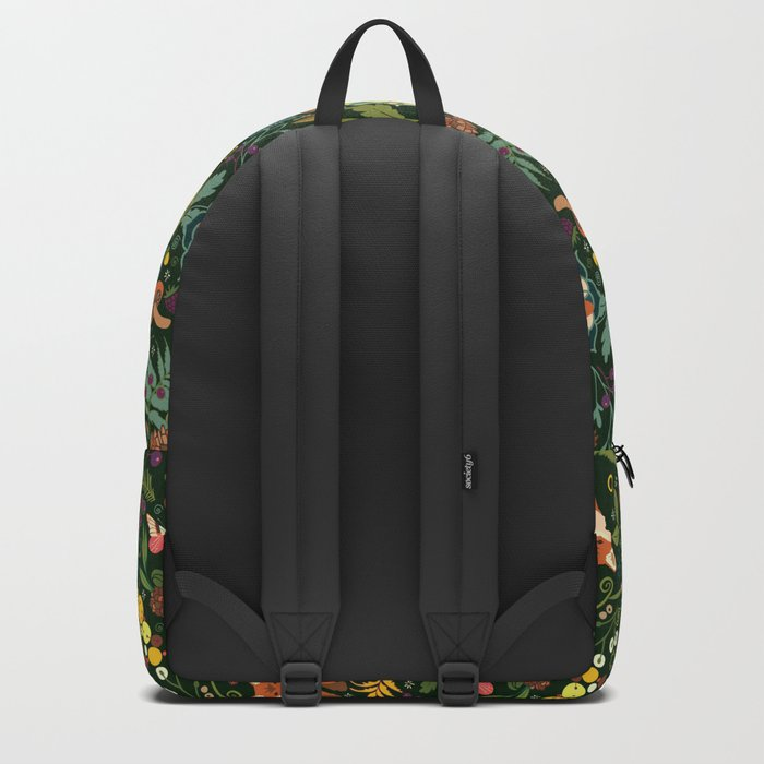 Treasures of the emerald woods Backpack
