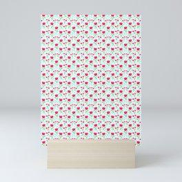 13 Rain Drops and Roses Mini Art Print