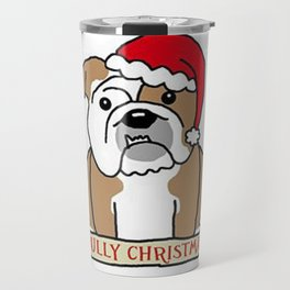 Bully Christmas Travel Mug