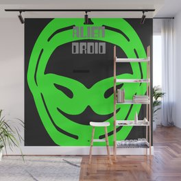 2KSD Alien Droid One Wall Mural
