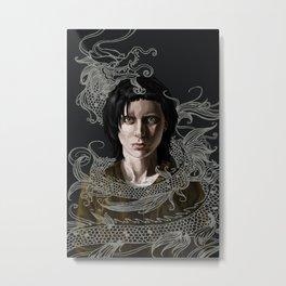 Dragon Tattoo Metal Print
