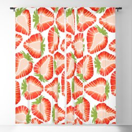 Strawberry Secret Blackout Curtain