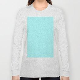 Celeste Cyan Long Sleeve T-shirt