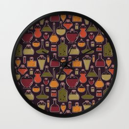 Witchy Potion Wall Clock