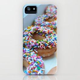 Krispy Kreme Donuts iPhone Case