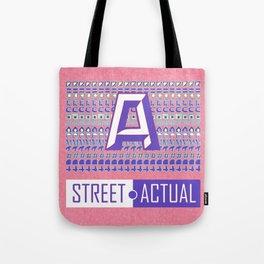 Street Actual Tote Bag