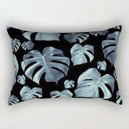 Tropical Monstera Pattern #5 #tropical #decor #art #society6 Rectangular Pillow