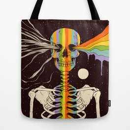 Dark Side of Existence Tote Bag