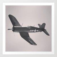 F4U Corsair Art Print
