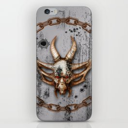 Awesome skull iPhone Skin