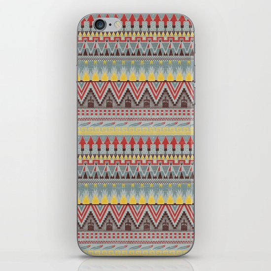 WHISKY AZTEC  iPhone & iPod Skin