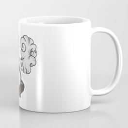Vaping Panda Bear Illustration | Animal Vape Coffee Mug