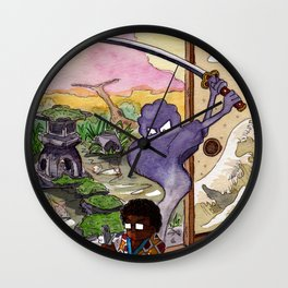 Banzaï Wall Clock