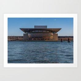 Copenhagen Opera House Art Print