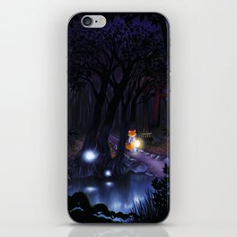 Mythical forest iPhone Skin