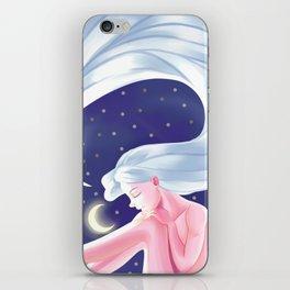 moongirl iPhone Skin