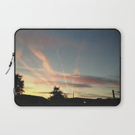 Sunset Under the Jetstreams Laptop Sleeve