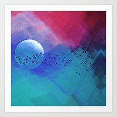 Dream Night Art Print